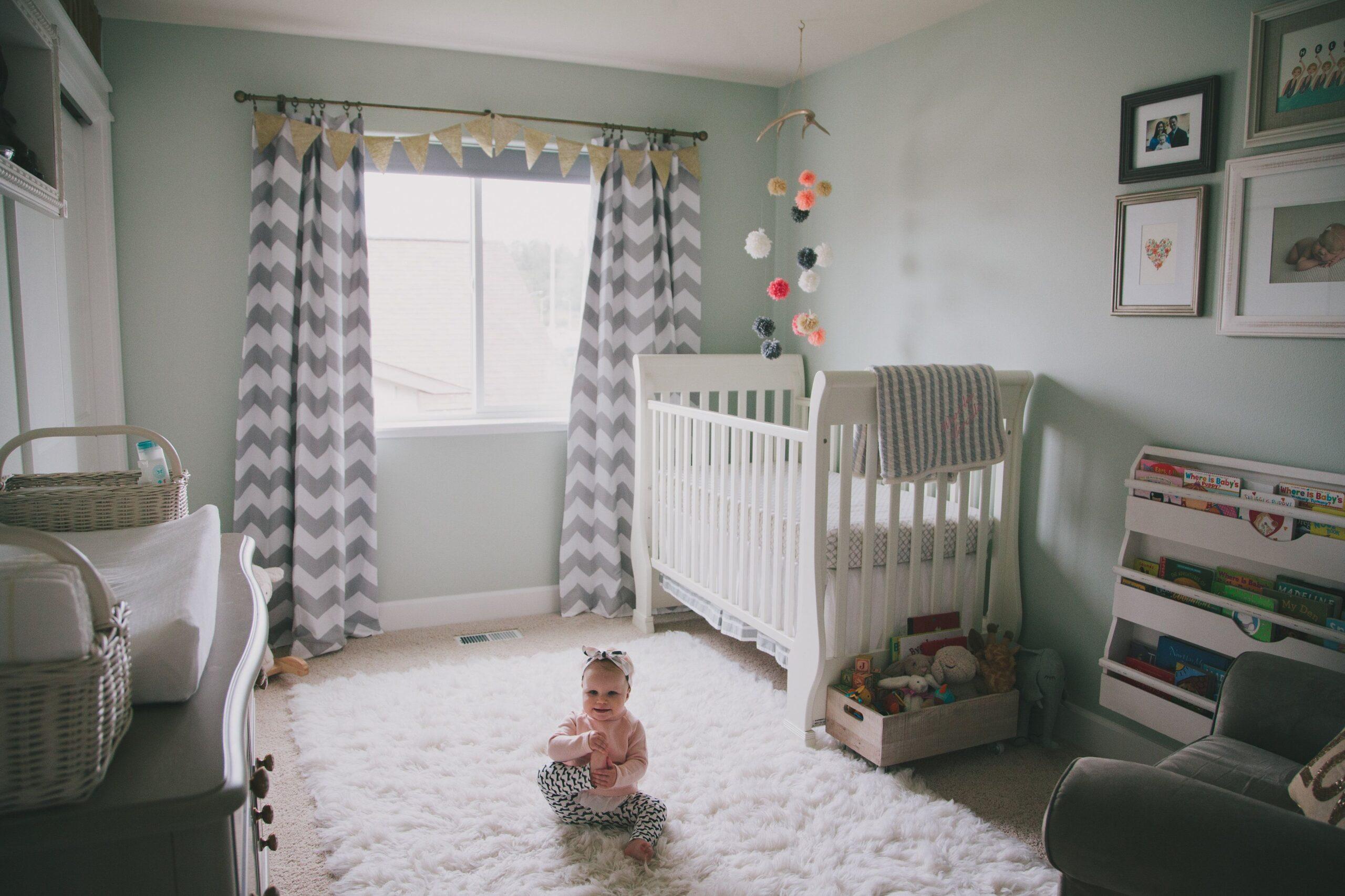 Stili diversi per arredare la nursery del tuo bebè