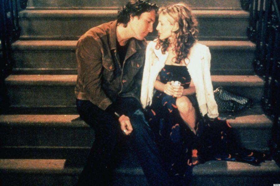 John Corbett e Sarah Jessica Parker in Sex and the City