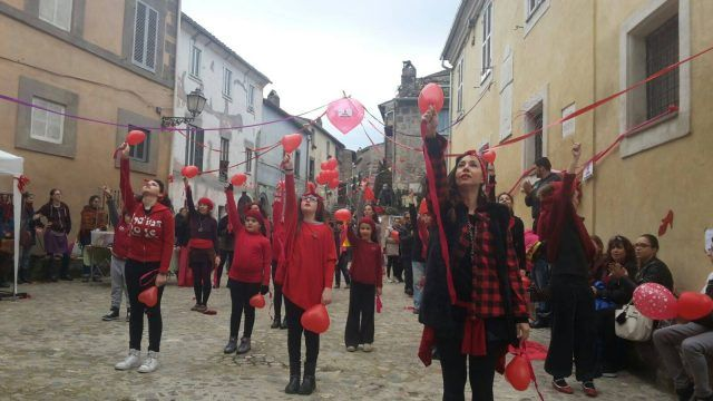 One Billion Rising, Calcata