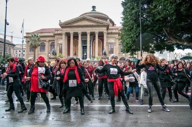 One Billion Rising, Palermo