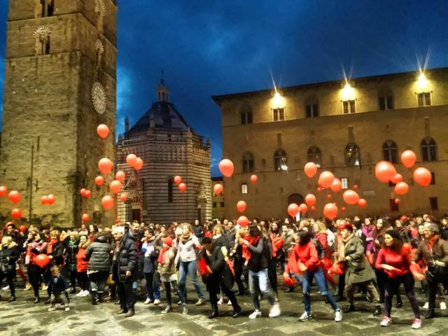 One Billion Rising, Pistoia