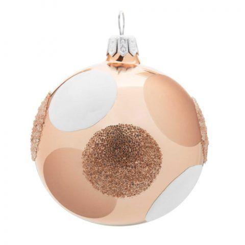 Pallina natalizia in vetro - 21.54 euro (confezione da 6)