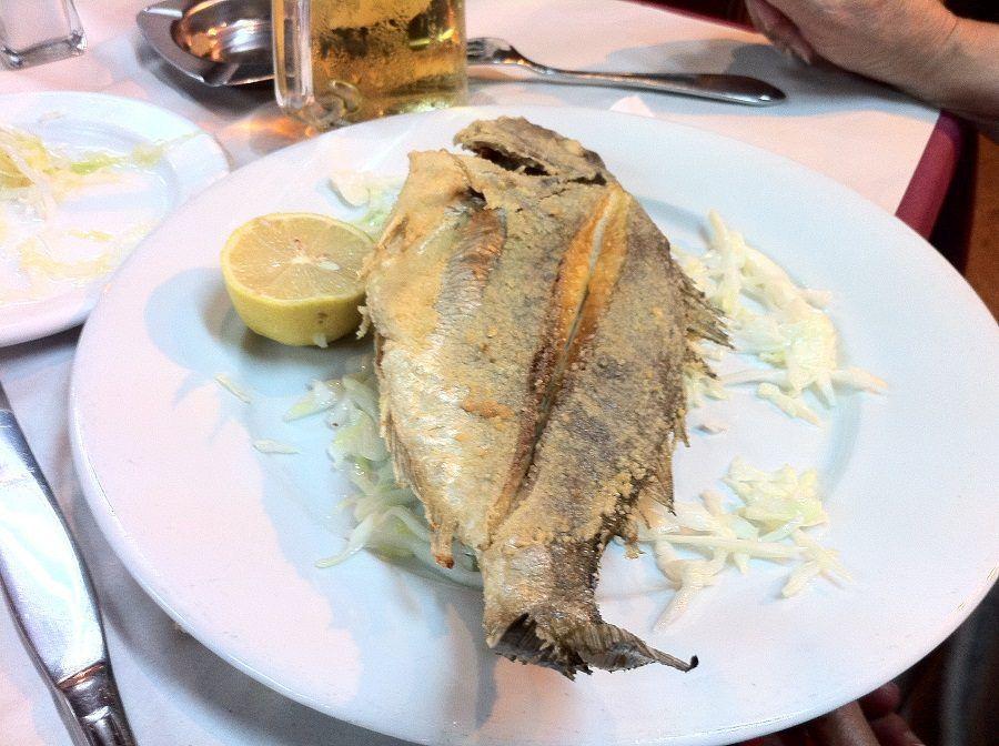 Attenzione a ordinare il pesce al ristorante