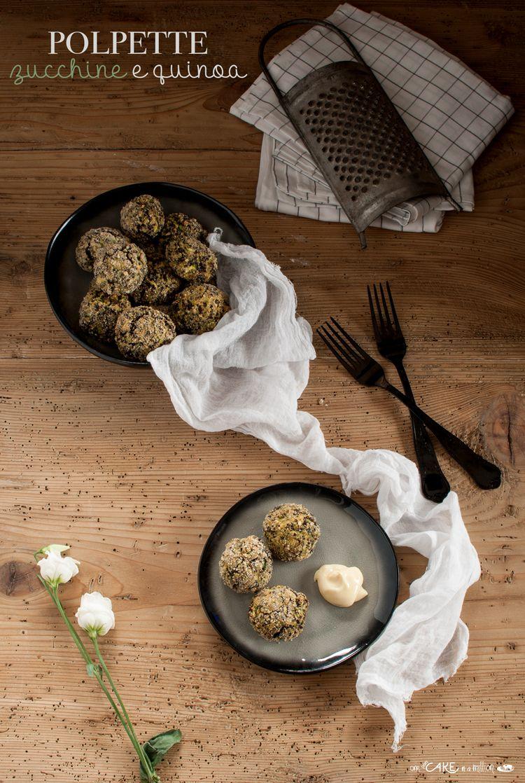 Polpette di quinoa e zucchine