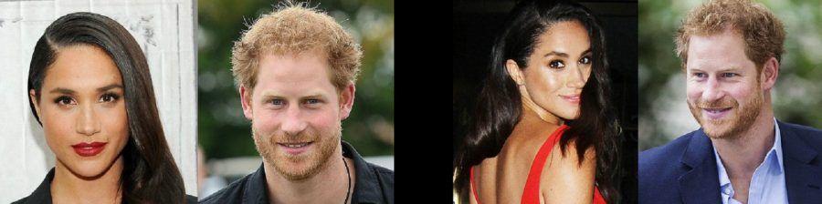 Il principe Harry e la fidanzata Meghan Markle