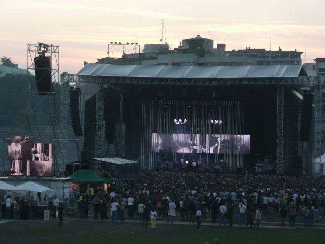 Il concerto dei Radiohead a Milano nel 2008