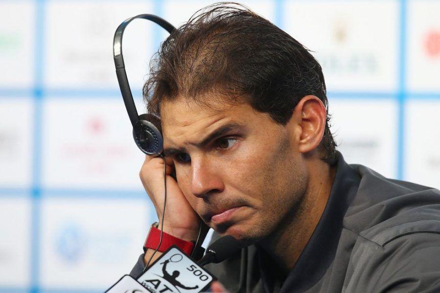 Rafael Nadal perde i capelli