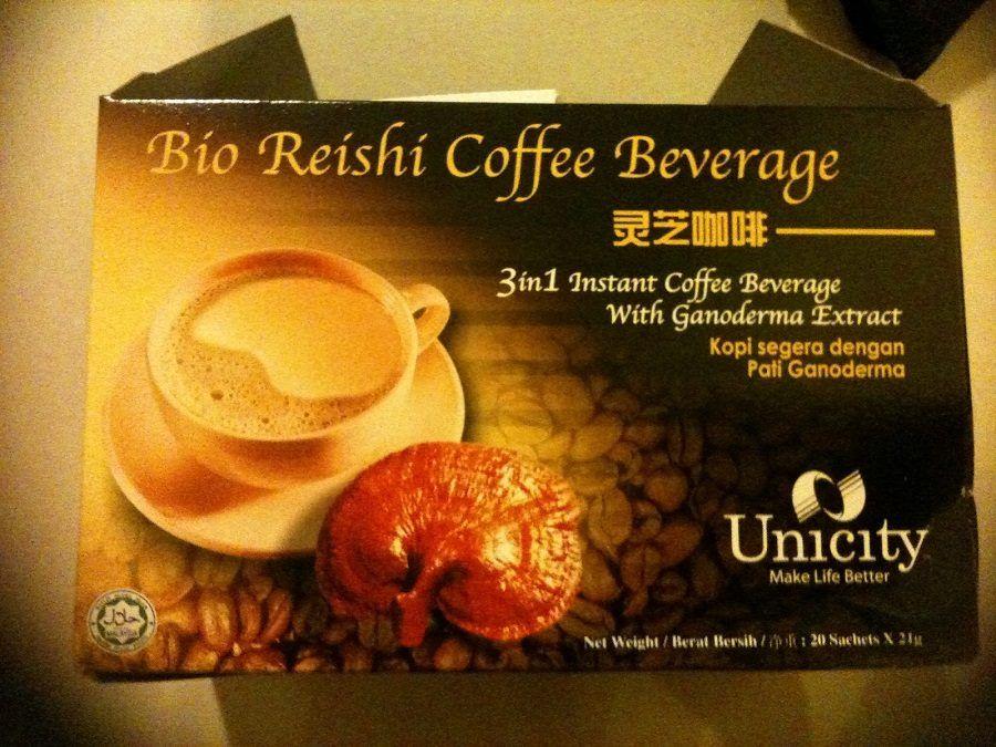 Il Reishi Coffee, caffè di funghi
