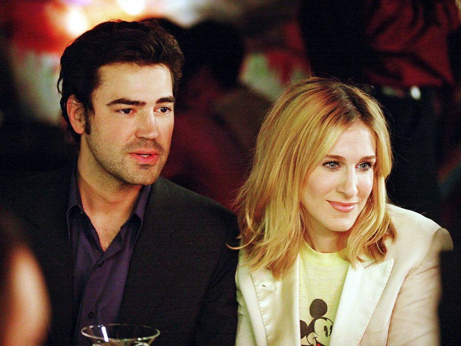 Ron Livingston e Sarah Jessica Parker in Sex and The City