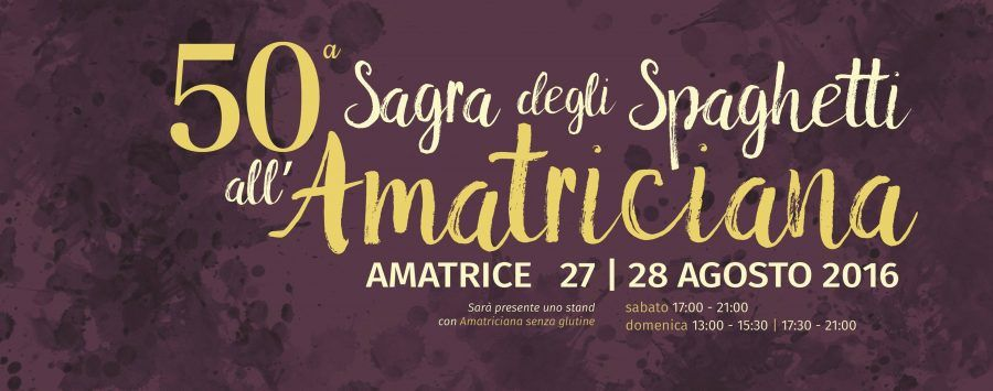 Ad agosto Amatrice avrebbe festeggiato la 50esima sagra