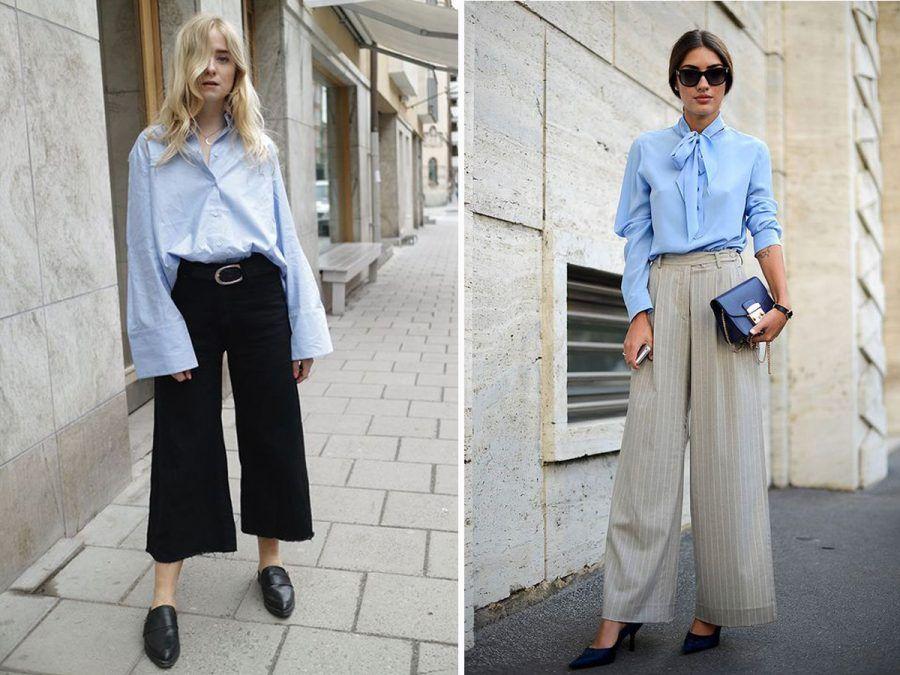 set pantaloni culotte