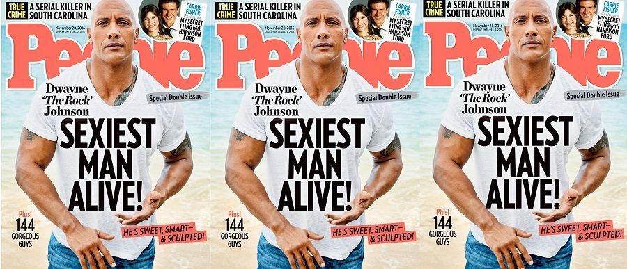 The Rock, Sexiest Man Alive 2016