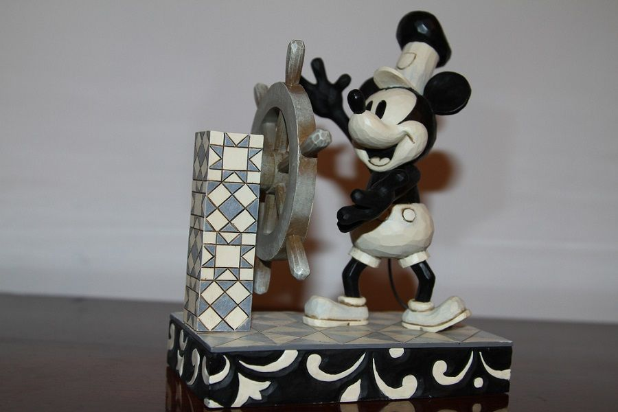 Topolino in Steamboat Willie