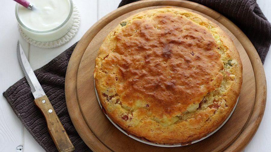 Torta salata 7 vasetti