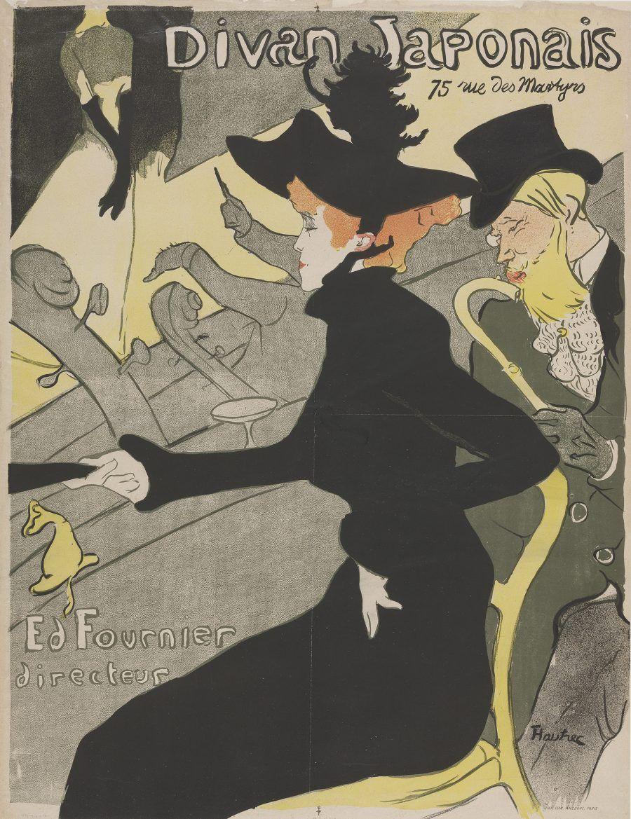 Divan Japonais Toulouse Lautrec