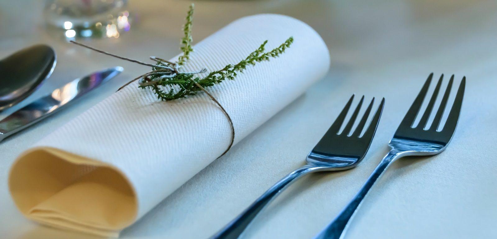 Galateo Tovagliolo A Destra galateo a tavola: come si usa il tovagliolo | bigodino