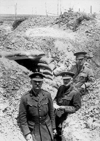 Trench usati durante la guerra