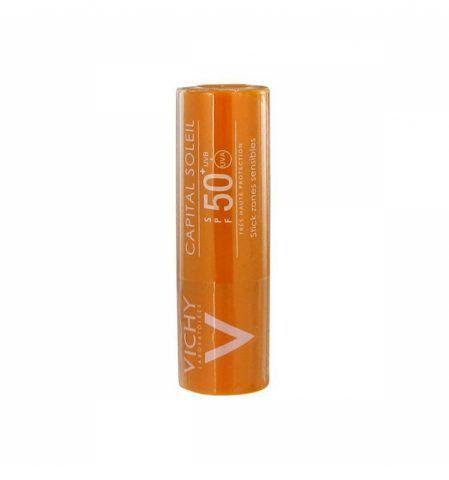 Vichy  Ideal Soleil, stick zone sensibili spf 50+ è la protezione fotosensibile a basse temperature.