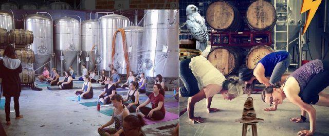 Alcuni esercizi dello Yoga Harry Potter