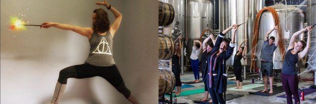 Copiate queste pose dello Yoga Harry Potter