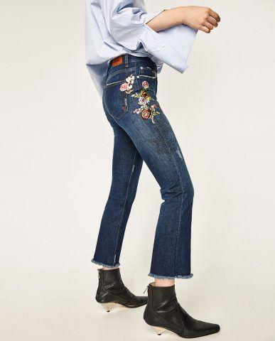 7689799fa09816 Jeans particolarissimi: spille, fiori, cuori, stelle e unicorni ...