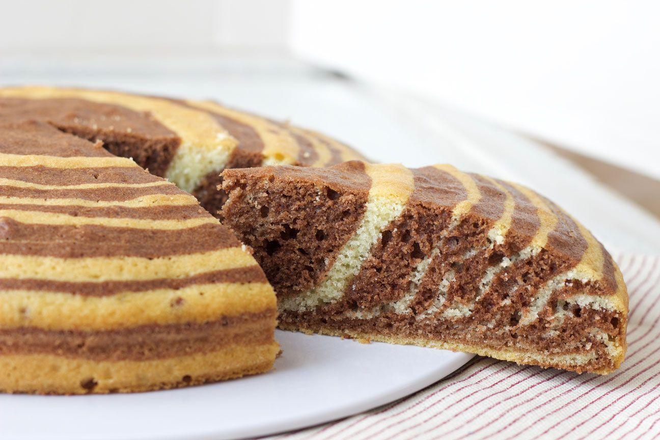 La ricetta della zebra cake