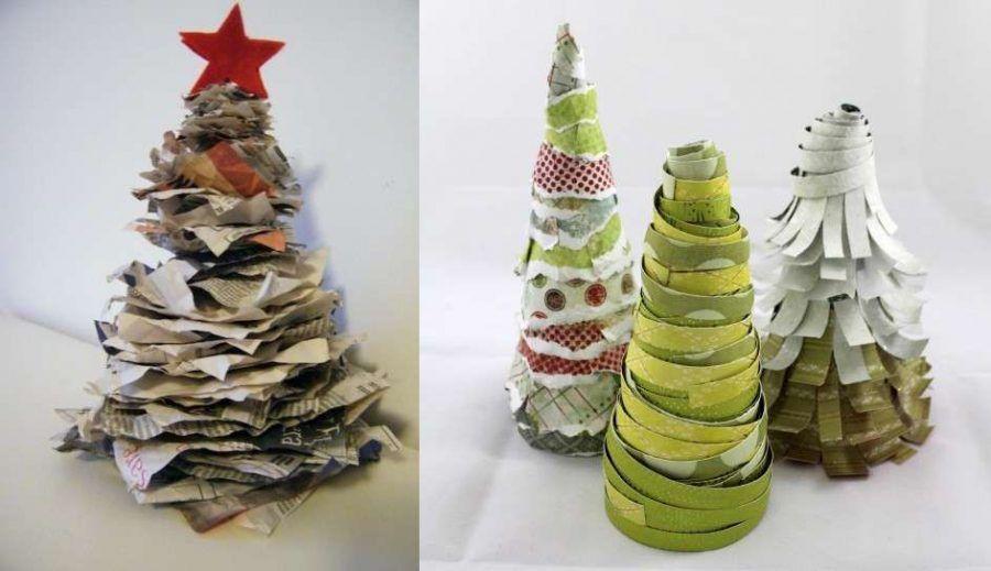 Alberi di Natale di carta