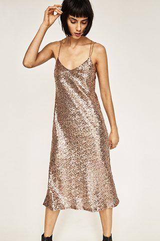 Mini dress con paillettes 49,95 €