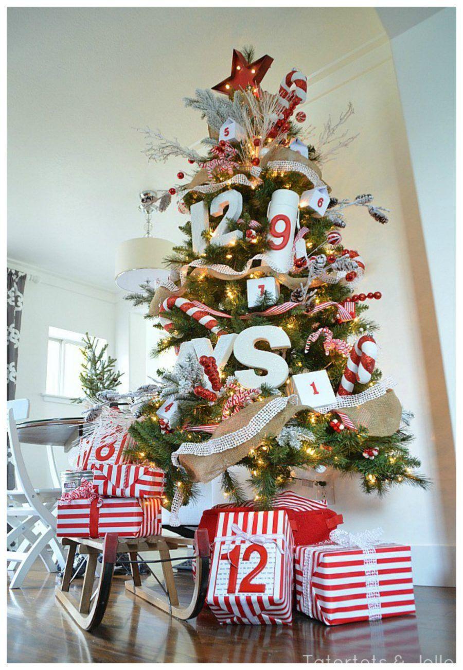 Diy 30 decorazioni per il tuo albero di natale bigodino - Decorazioni di carta per albero di natale ...