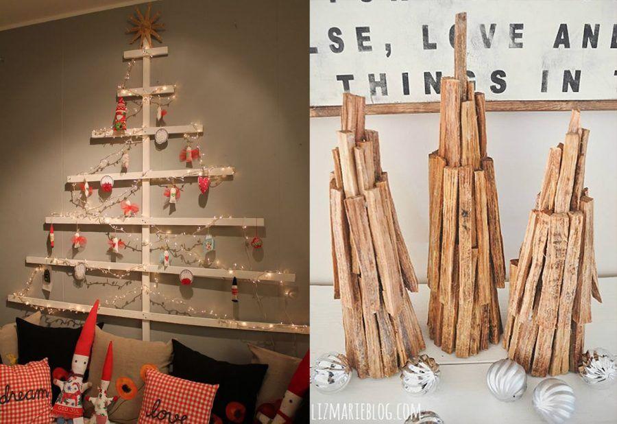 Alberi di Natale in legno
