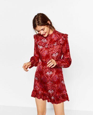 Abito jacquard Zara €59,95