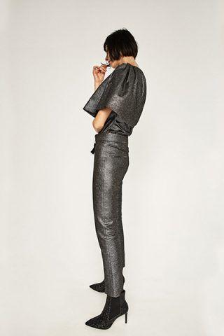 Pantaloni argentati 49,95 €