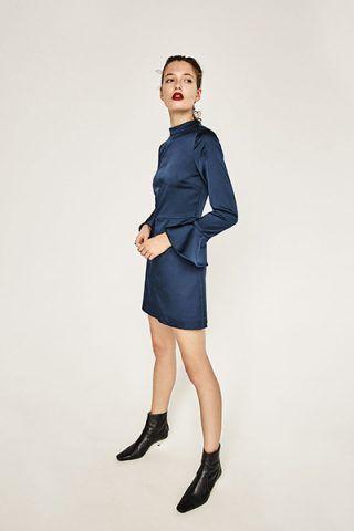 Vestito in satin blu 39,95 €