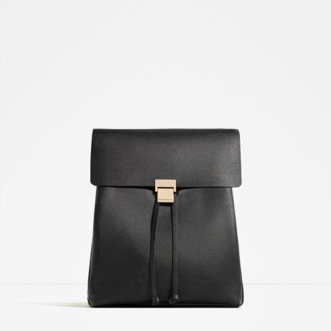 Zaino chiusura metallica Zara €19,95