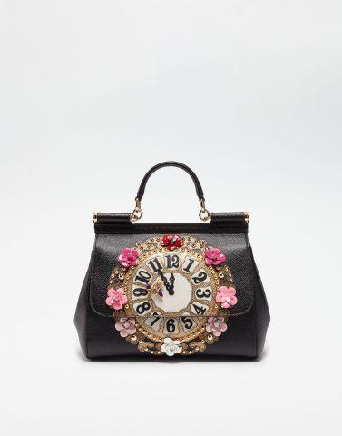 Borsa sicily Dauphine con applicazioni Dolce&Gabbana €2,450