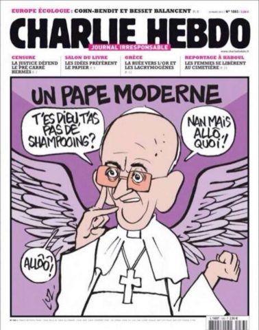 La copertina shock dedicata al Papa