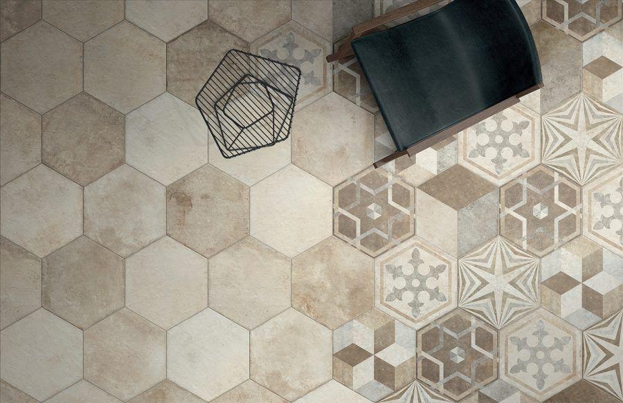 Piastrelle patchwork per una casa tra il trendy e il vintage