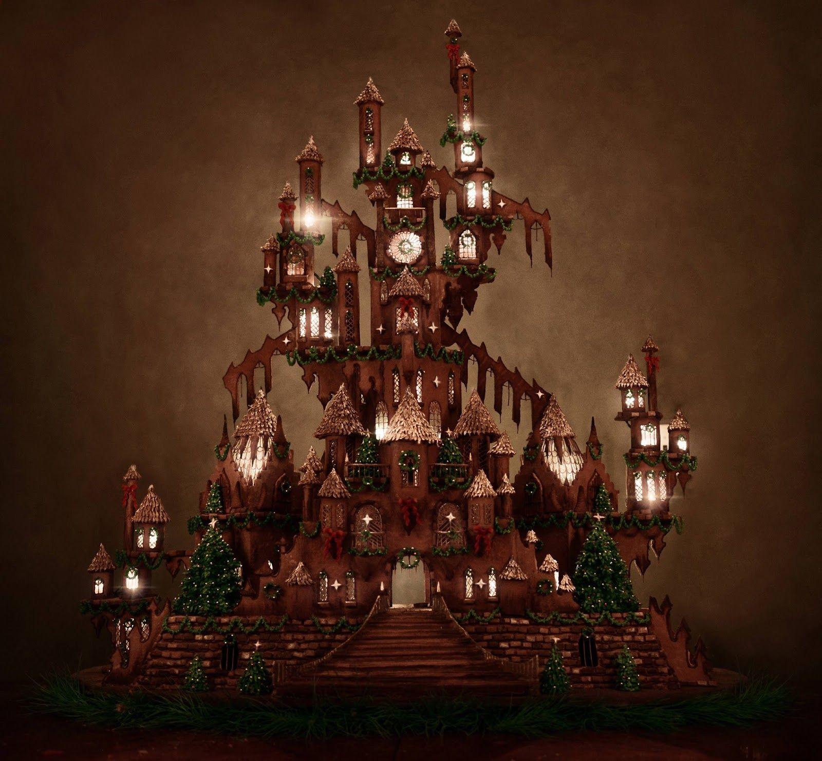 Altro che casa di pan di zenzero: c'è chi ha costruito un castello!