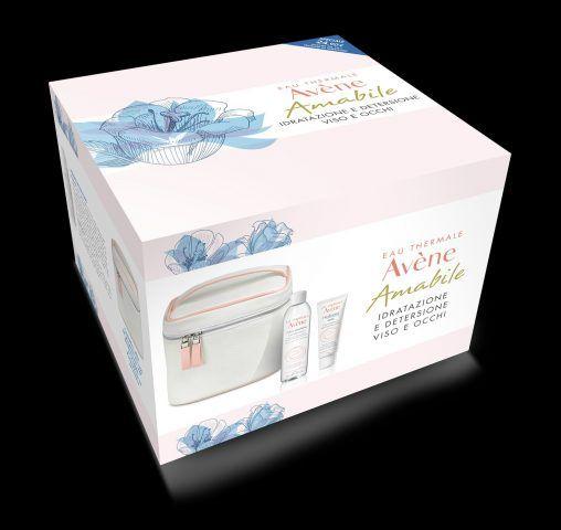 Eau Thermale Avene, Hydrance Optimal, Trousse Amabile con crema idratante, lozione micellare e trousse. 24.90 euro.