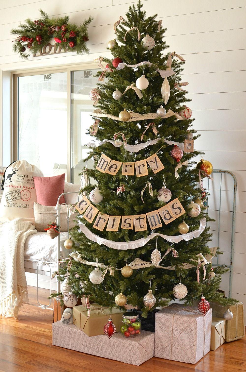 Diy 30 Decorazioni Per Il Tuo Albero Di Natale Immagine