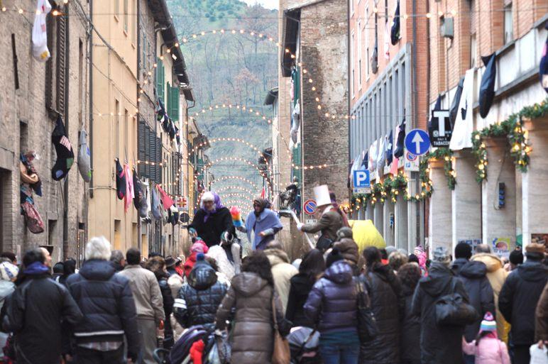 I visitatori arrivano da tutta Italia