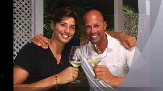 Niccolo Bettarini, figlio di Stefano Bettarini e Simona Ventura