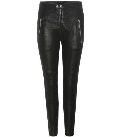 Pantaloni Arnold in pelle Isabel Marant €1.550