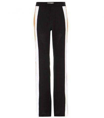 Pantaloni in crêpe de chine Stella McCartney €845
