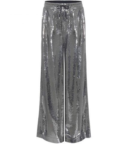 Pantaloni con paillettes Alexander McQueen €575