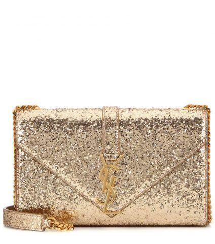Borsa a tracolla Monogramme Small con glitter Saint Laurent €1,015