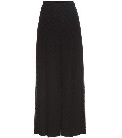 Pantaloni a gamba larga in chiffon See by Chloé €350