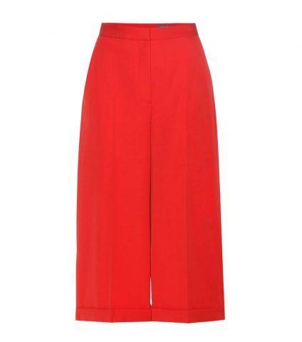 Pantaloni culottes in lana Alexander McQueen €675