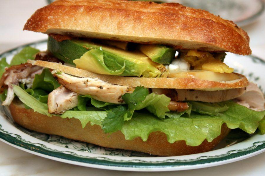 Panini all'avocado