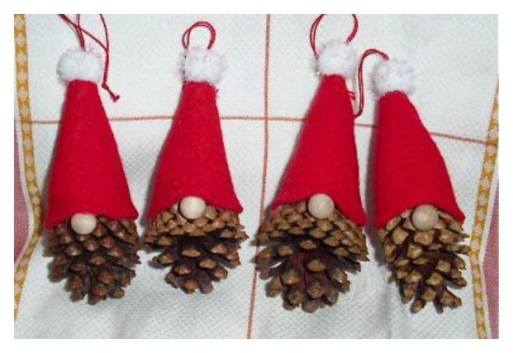 Lavoretti Di Natale Veloci E Facili.Gnomi Di Natale Varie Tecniche Facili E Veloci Bigodino